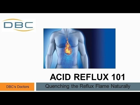 Acid Reflux 101 - quenching the reflux flame naturally