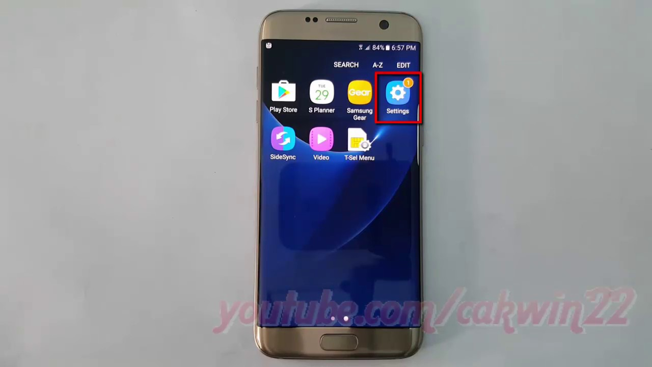 Samsung Galaxy S7 Edge : How to Enable or Disable Google Sync Calendar  (Android Marshmallow)