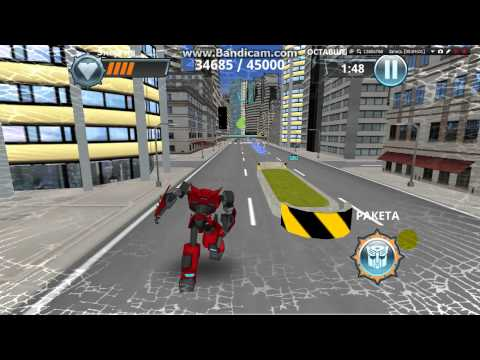 Overview of game Transformers:robots in disguise with code on heal.