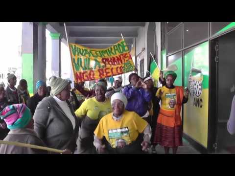 Cambridge residents express their displeasure at ANC candidate