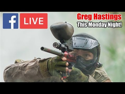 Greg Hastings on Behind The Bunker Paintball Show