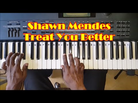 Treat You Better Easy Piano Tutorial - Shawn Mendes - How To Play
