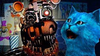 ФРЕДДИ всё таки НАПАЛ FNAF 6 Five Nights at Freddy s 6 ФНАФ 6 ПИЦЦЕРИЯ летсплей КОТЁНОК ЛАЙК