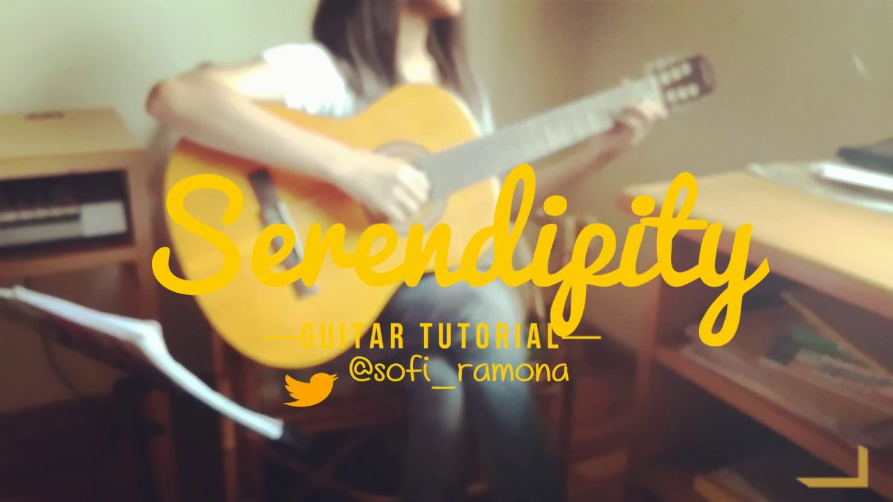[ TUTORIAL ] BTS (방탄소년단) SERENDIPITY    Guitar Tutorial