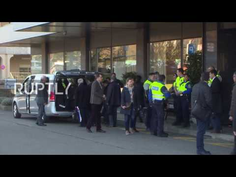 Switzerland: Syrian opposition delegation arrives for peace talks in Geneva