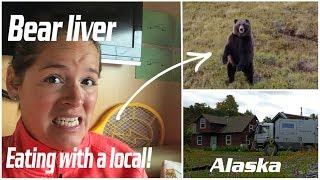 Rving and visiting locals - Wild game food | Nilnilchik Alaska | Liveandgive4x4