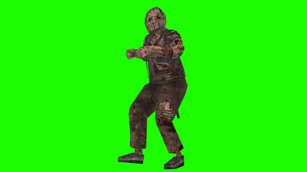 dr salvador walk animated right resident evil chroma - YouTube