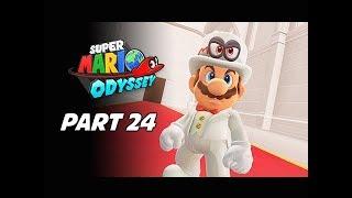 SUPER MARIO ODYSSEY Walkthrough Part 24 - Wedding Crasher (Let's Play Commentary)