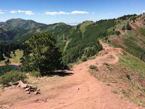 Mountain Biking Wasatch Crest Trail (Park City, UT by Seth Marlow