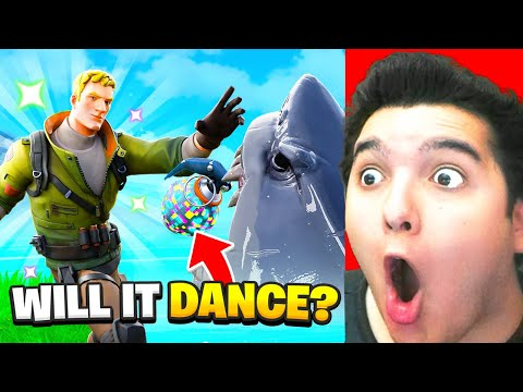 What Happens When You Boogie Bomb A Shark In Fortnite? 🦈  
