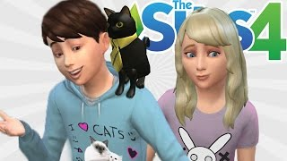 SIMS WITH DENIS!   The Sims 4 (Kids!)