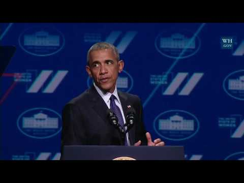 President Obama Speaks at the White House Summit on the Unit