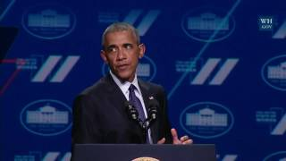 President Obama Speaks at the White House Summit on the United State of Women