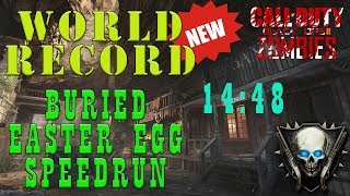 BURIED EASTER EGG SPEEDRUN - WORLD RECORD (14:48 - RICHTOFEN)