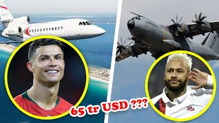 Ronaldo and 9 Players Own the Most Expensive Private Plane in the World Today