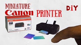 MINIATURE CANON PRINTER | Realistic DIY Tutorial