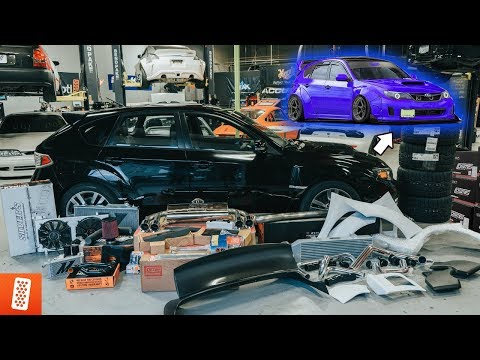 Building The ULTIMATE 2008 Subaru WRX STI Hatchback - Part 1