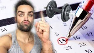 Muskelregeneration - Die richtige Pause