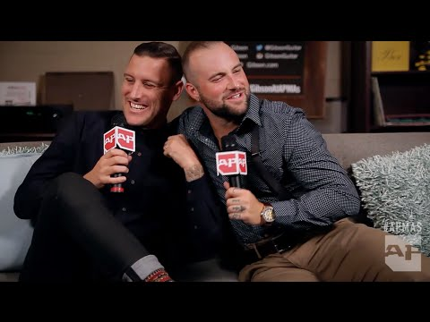 APMAs 2015: Parkway Drive and August Burns Red in the Gibson Backstage Lounge