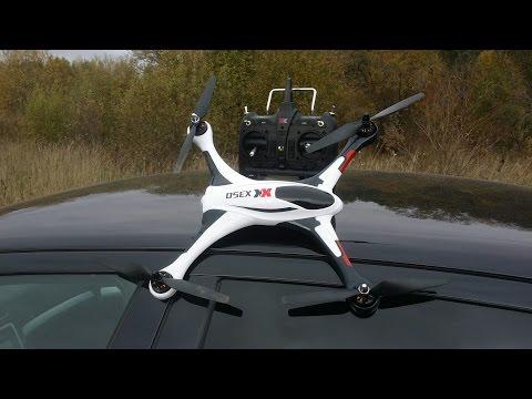 Крутой 3D квадрокоптер ... XK STUNT X350 from banggood.com
