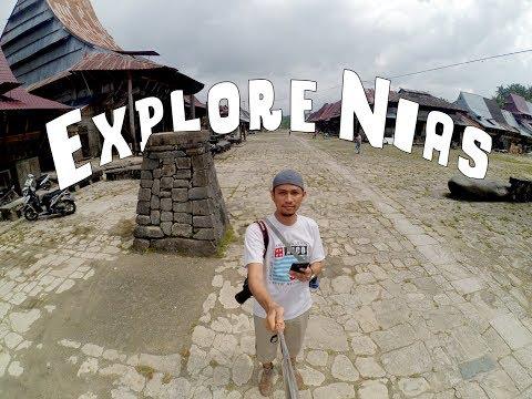 Lompat Batu sampai surfing  Explore Indonesia / Nias Part 1   Travel Vlog