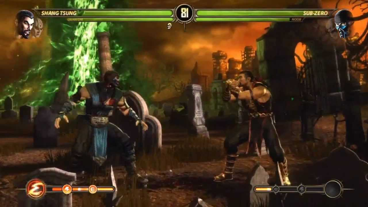Mortal Kombat 9 - Quan Chi and Shang Tsung (Tag Ladder) [Expert] No  Matches/Rounds Lost