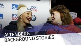 Kaillie Humphries meets Gaby Kohlisch | IBSF Official