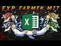 Richtig EXP farmen mit Excel! [One Piece Treasure Cruise]