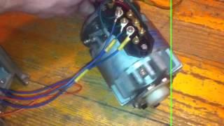видео 120. Асинхронный двигатель с короткозамкнутым ротором