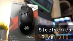 Meine Traummaus ist da! Steelseries Rival 310 und QCK Prism Mauspad | Review/Test