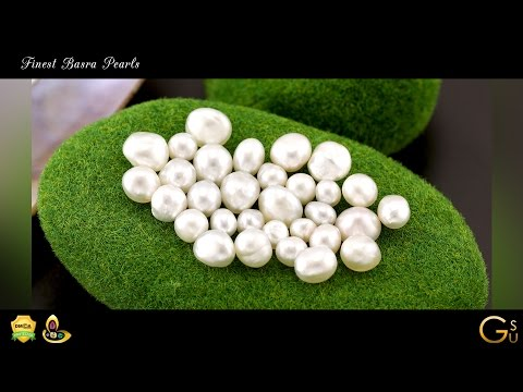 Basra Pearl Finest Natural Certified Basra Pearls from Gemstoneuniverse