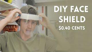 Diy Medical Face Shield  $0.40 Cents