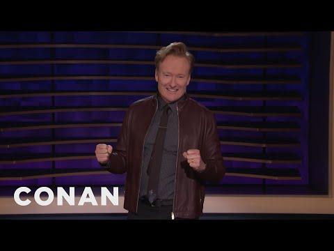 "Conan Watched ""Love Island"" Instead Of Trump's SOTU"