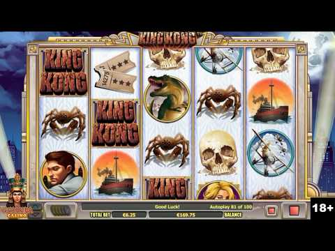 King Kong Slot Machine Bonus Round - Nextgen Gaming