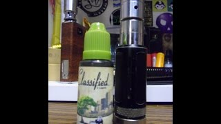 Classified Ejuice Review: Delight Peach Cobbler 6mg