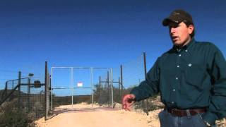Game Fence By J4 Fencing & Services, Electric Access Gates In Texas