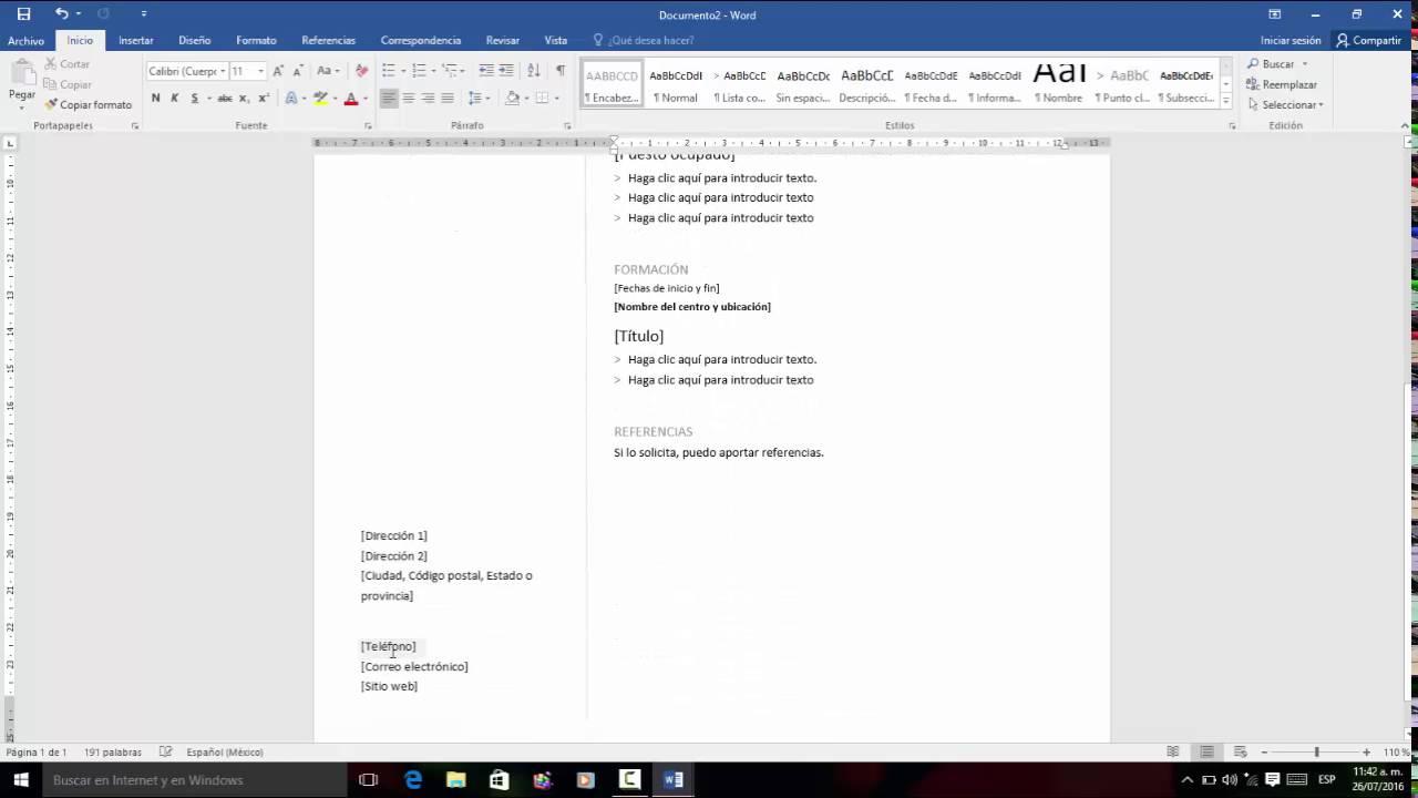 Tutorial como aplicar plantillas en word 2013 - YouTube