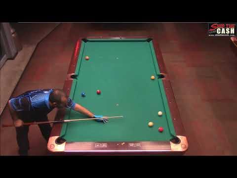 """Fransisco """"5K"""" Cabral vs Joe Dupuis - STC One Pocket & Banks Event"""