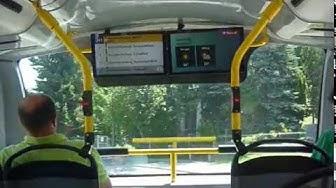 Mit der Linie 241 im Doppelstock-Postauto durch Rorschacherberg