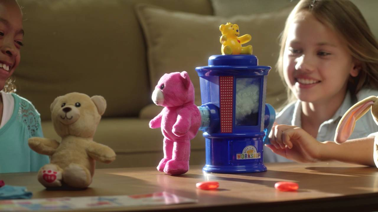 Spin Master | How To Use Your Build-A-Bear Workshop Stuffing Station ...