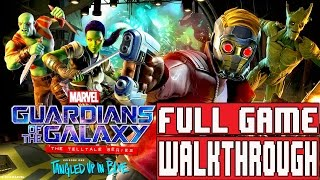 GUARDIANS OF THE GALAXY Telltale Episode 1 Gameplay Walkthrough Part 1 Full Game - No Commentary