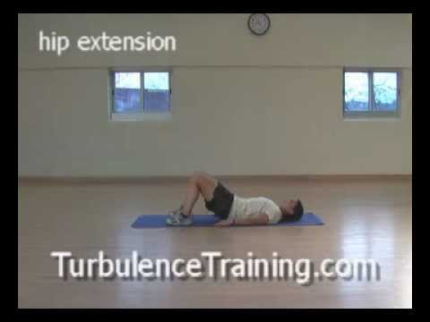 Easy Exercises to Lose Weight Fast at Home -Bodyweight Exercise Hip Extension