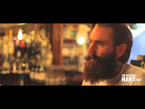 Behind the Beard with Ricki Hall - The Bearded Man Co at mrhardys.com