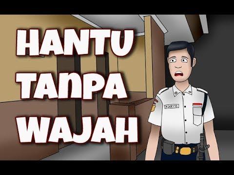 Kartun Hantu |  Kartun Lucu | HANTU TANPA WAJAH | Animasi Horor | Seram