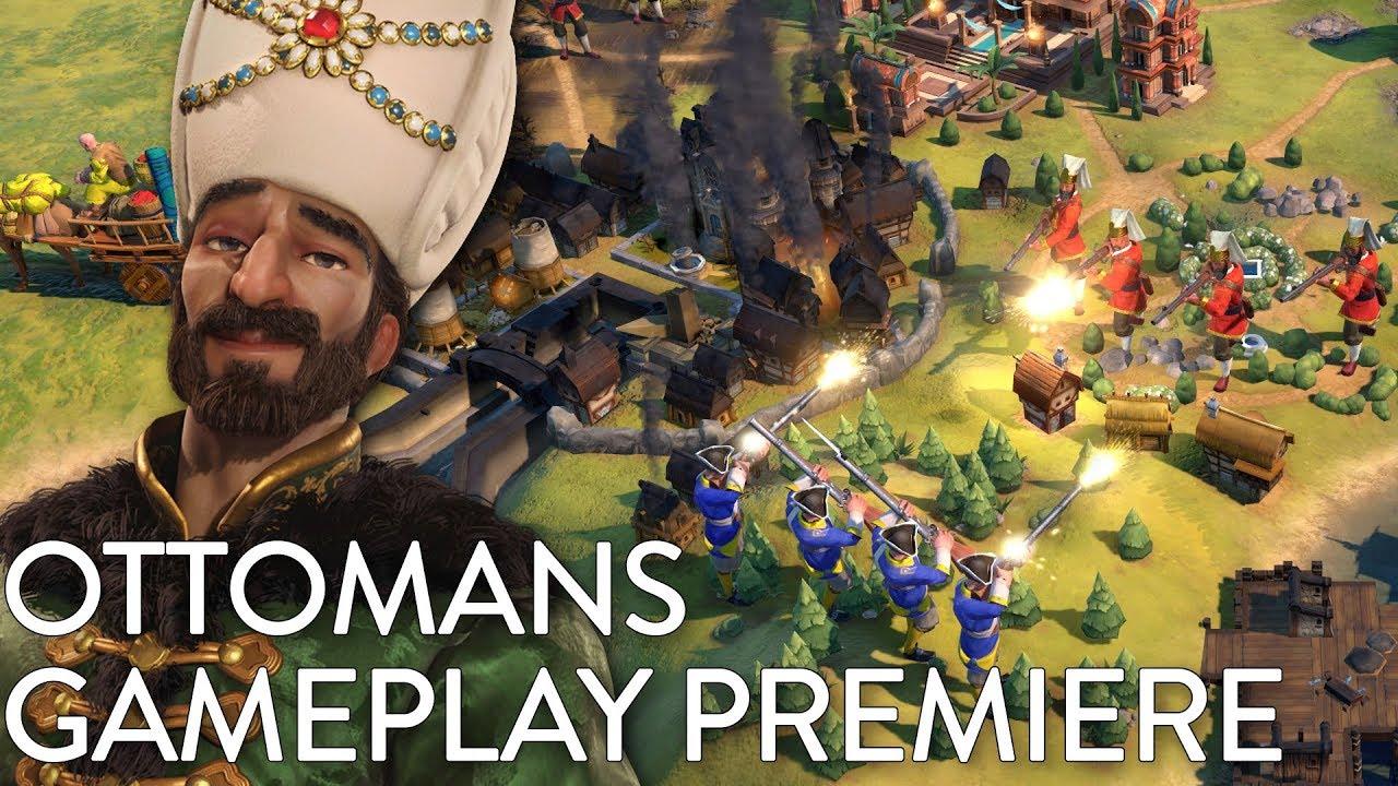 Civilization VI: Gathering Storm - Ottomans Gameplay Premiere (Dev  Livestream)