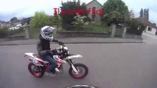 Balade en 50cc /gendarmerie / course /