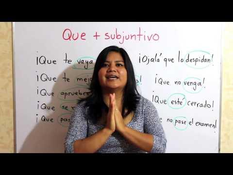 HABLA ESPAÑOL CON MÁS NATURALIDAD. Deseos con subjuntivo.