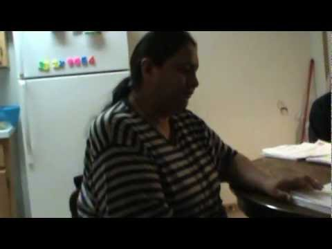 Bernice White Hawk share with us from Manderson, South Dakota.  October 12-2012 part 2