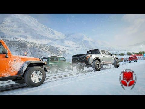 Me Xhip te Fort neper Borë !! - Forza Horizon 3 SHQIP   SHQIPGaming