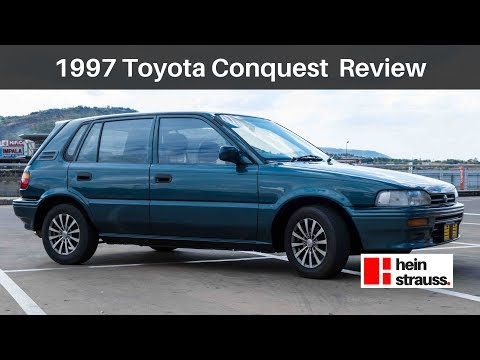 Toyota Conquest 130 Tazz Review
